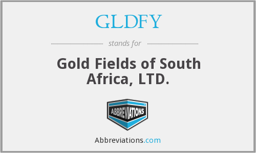 What does GLDFY stand for?