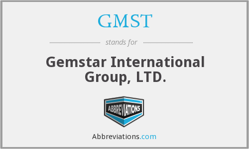 What does GMST stand for?