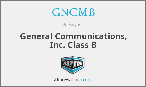 What does GNCMB stand for?