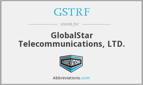 What does GSTRF stand for?