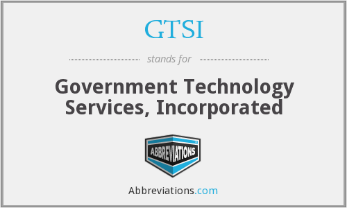 What does GTSI stand for?
