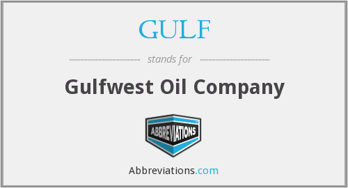 What does GULF stand for?