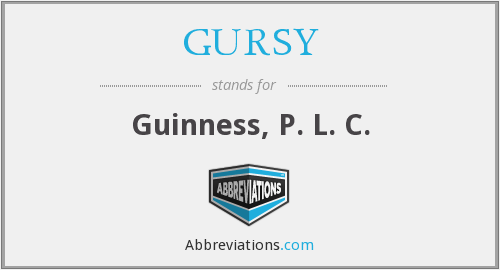 What does GURSY stand for?