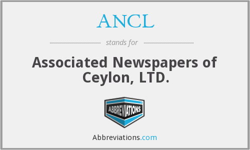 What does ANCL stand for?