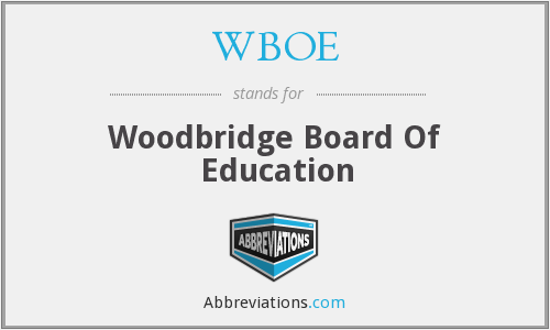 What does WBOE stand for?