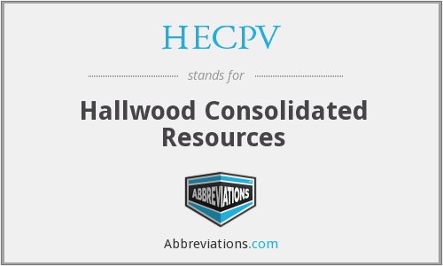 What does HECPV stand for?