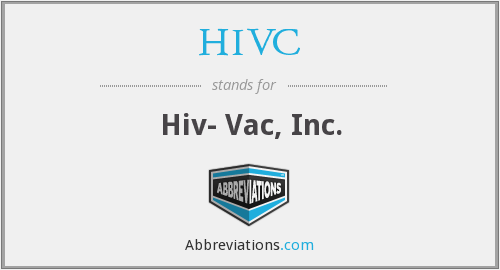 What does HIVC stand for?