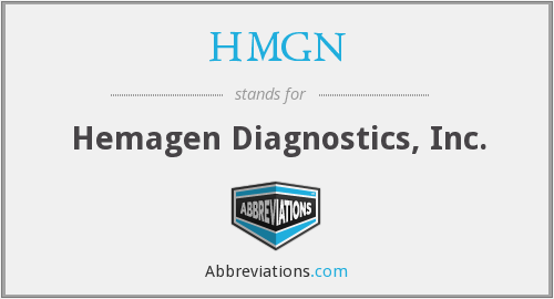 What does HMGN stand for?