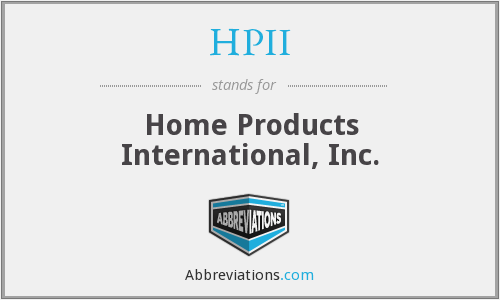What does HPII stand for?