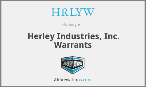 What does HRLYW stand for?