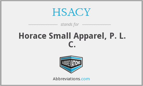 What does HSACY stand for?