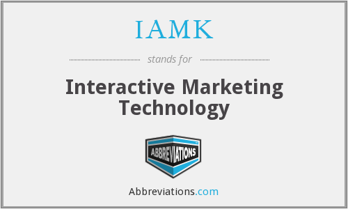 What does IAMK stand for?