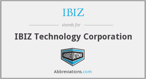 What does IBIZ stand for?