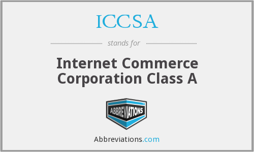 What does ICCSA stand for?