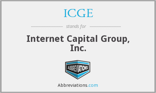 What does ICGE stand for?