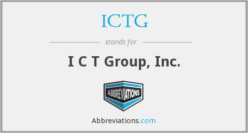 What does ICTG stand for?