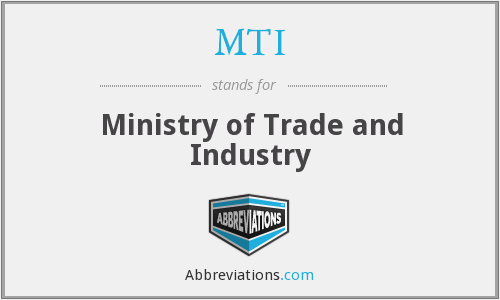 What does MTI stand for?