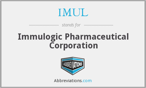 What does IMUL stand for?