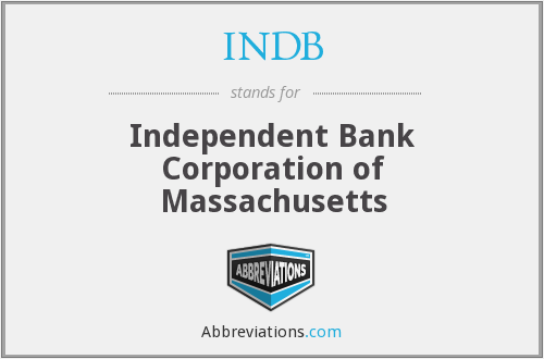 What does INDB stand for?