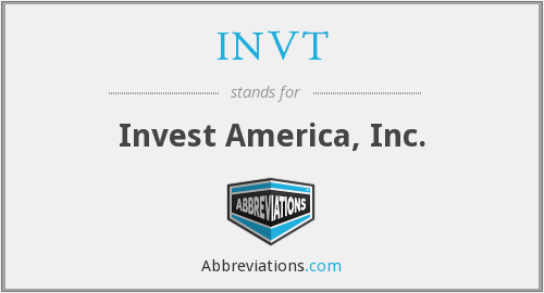 What does INVT stand for?