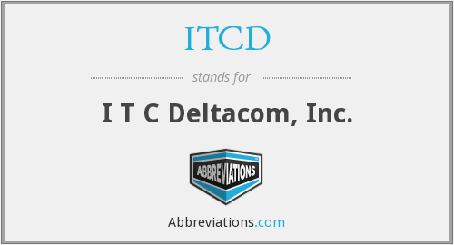 What does ITCD stand for?