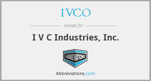 What does IVCO stand for?