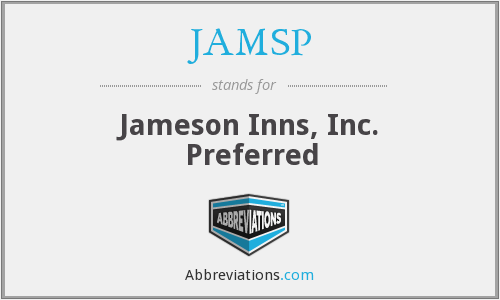 What does JAMSP stand for?