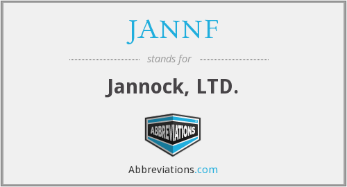 What does JANNF stand for?