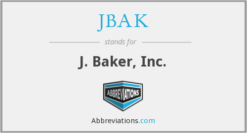 What does JBAK stand for?