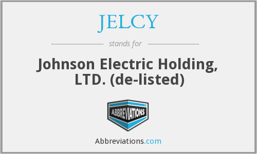 What does JELCY stand for?