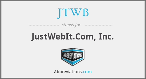 What does JTWB stand for?