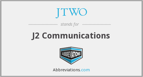 What does JTWO stand for?