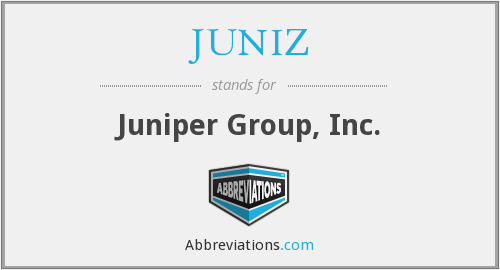 What does JUNIZ stand for?