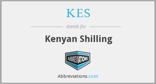 What does KES stand for?