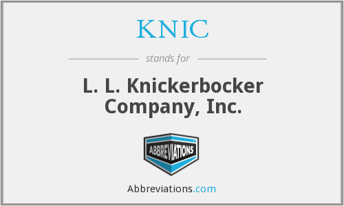 What does KNIC stand for?