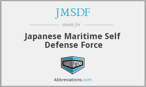What does JMSDF stand for?
