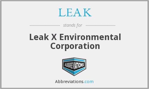 What does LEAK stand for?