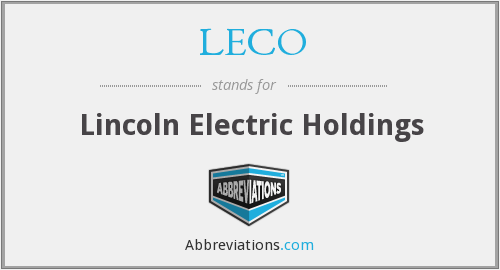 What does LECO stand for?