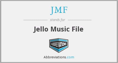 What does JMF stand for?