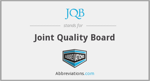 What does JQB stand for?