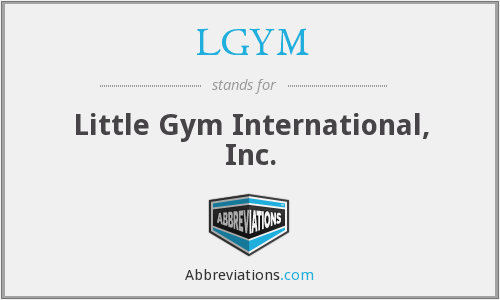 What does LGYM stand for?