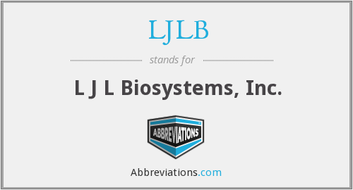 What does LJLB stand for?
