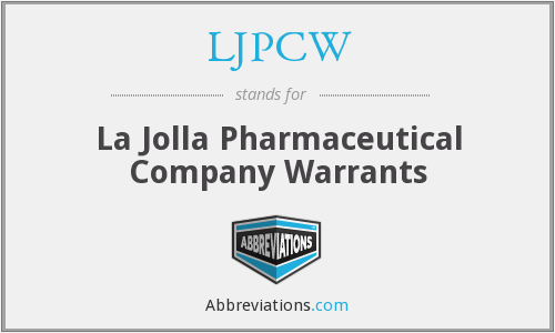 What does LJPCW stand for?