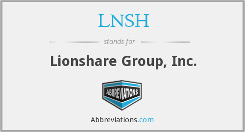 What does LNSH stand for?