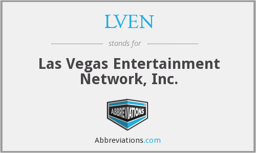 What does LVEN stand for?