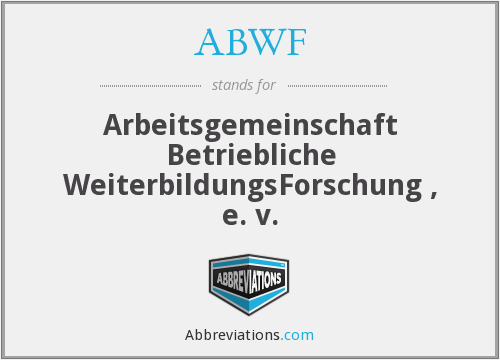 What does ABWF stand for?