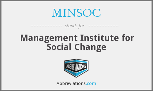 What does MINSOC stand for?