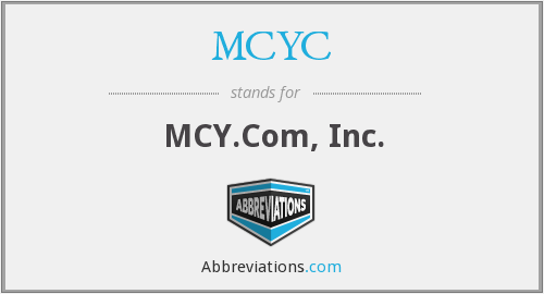 What does MCYC stand for?