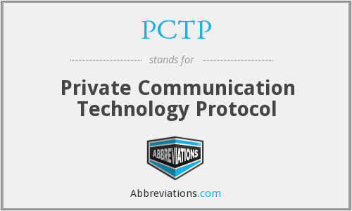 What does PCTP stand for?