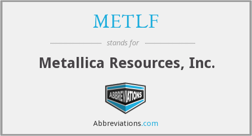 What does METLF stand for?